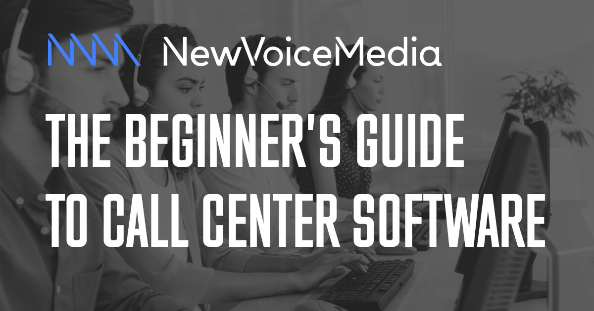 CTI, IVR, ACD, WFM, QM and more - Types of call center software