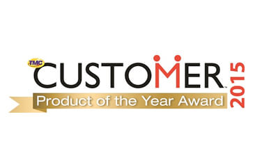 NewVoiceMedia secures 2015 CUSTOMER magazine Product of the Year Award