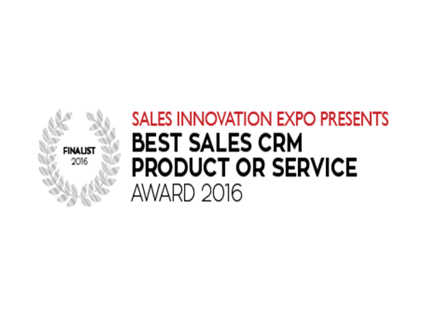 NewVoiceMedia named finalist for Best Sales CRM Product or Service award