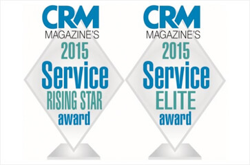 CRM magazine selects NewVoiceMedia for 'CRM Rising Star' and 'CRM Service Elite' 2015 awards