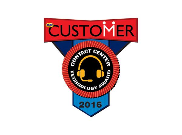NewVoiceMedia wins 2016 CUSTOMER Contact Center Technology Award