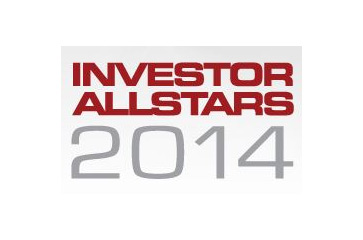 NewVoiceMedia CEO announced as finalist at the Investor AllStars Awards 2014