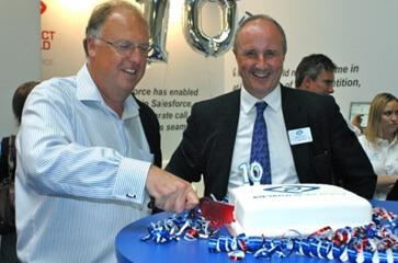 NewVoiceMedia hosts 10 year birthday celebrations at Call Centre Expo