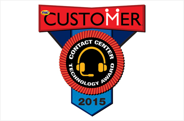NewVoiceMedia receives 2015 CUSTOMER Contact Center Technology Award
