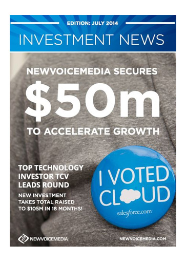 NewVoiceMedia secures $50m funding to accelerate growth