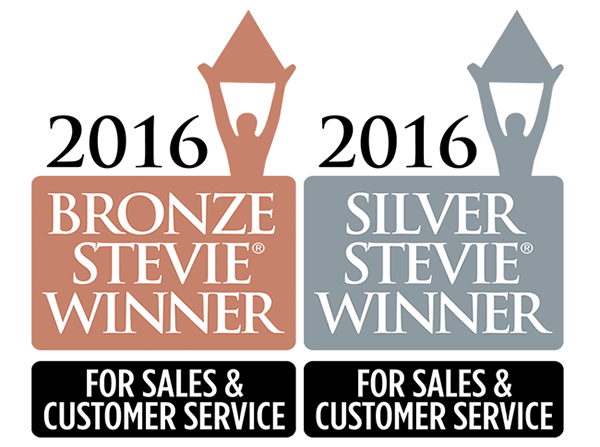 NewVoiceMedia wins three 2016 Stevie® Awards for sales and customer service