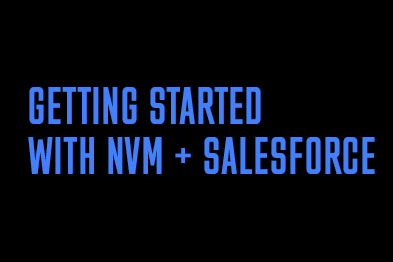 Getting Started with Salesforce & NewVoiceMedia