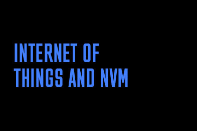 Internet of Things with NVM