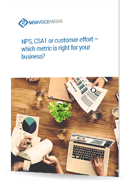 NPS, CSAT or customer effort – which metric is right for your business?