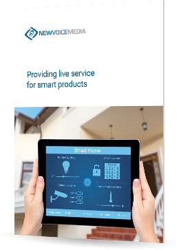 Providing live service for smart products