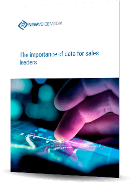 Importance of data for sales leaders