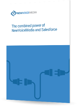 The combined power of NewVoiceMedia and Salesforce