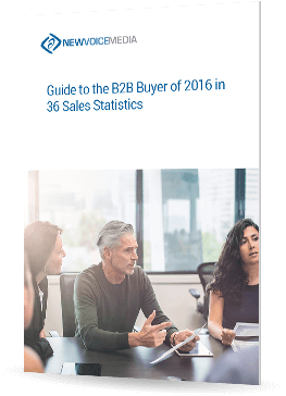 Guide to the B2B Buyer of 2016 in 36 Sales Statistics