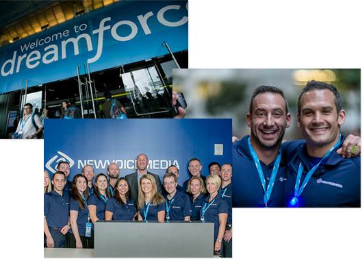 NewVoiceMedia at Dreamforce 2014