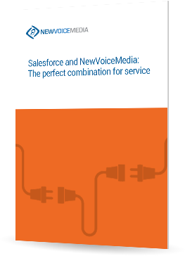 Salesforce® and NewVoiceMedia: the perfect combination for service