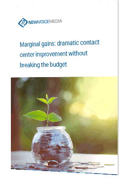 Marginal gains: dramatic contact center improvement without breaking the budget