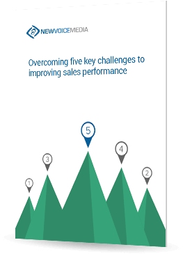 Overcoming five key challenges to improving sales performance