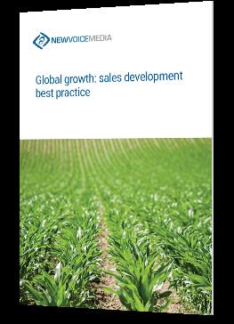 Global growth: sales development best practice