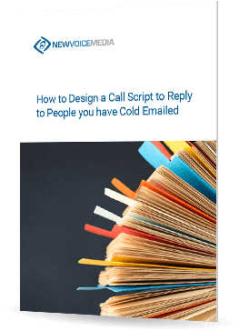 How to design a call script to reply to prospects you have cold emailed