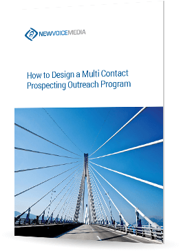 How to design a multi-contact prospecting outreach program