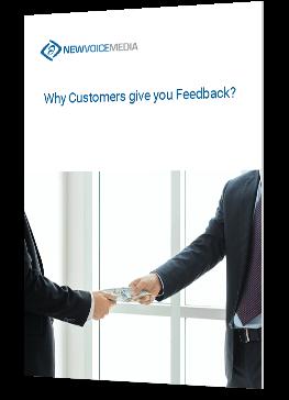 Why customers give you feedback